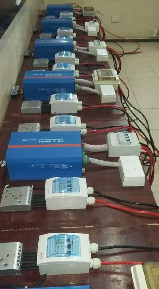 Prewired Solar Set 800W 24V
