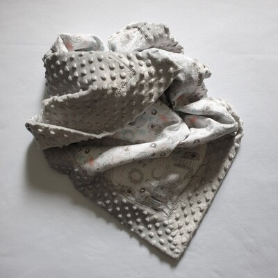 Self Binding Blanket