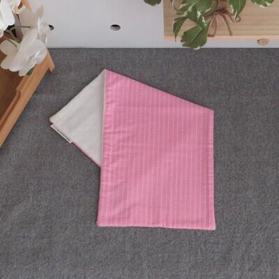 "Burp Cloth ""Pink Dots"""