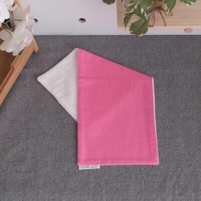 "Burp Cloth ""Bright Pink"""