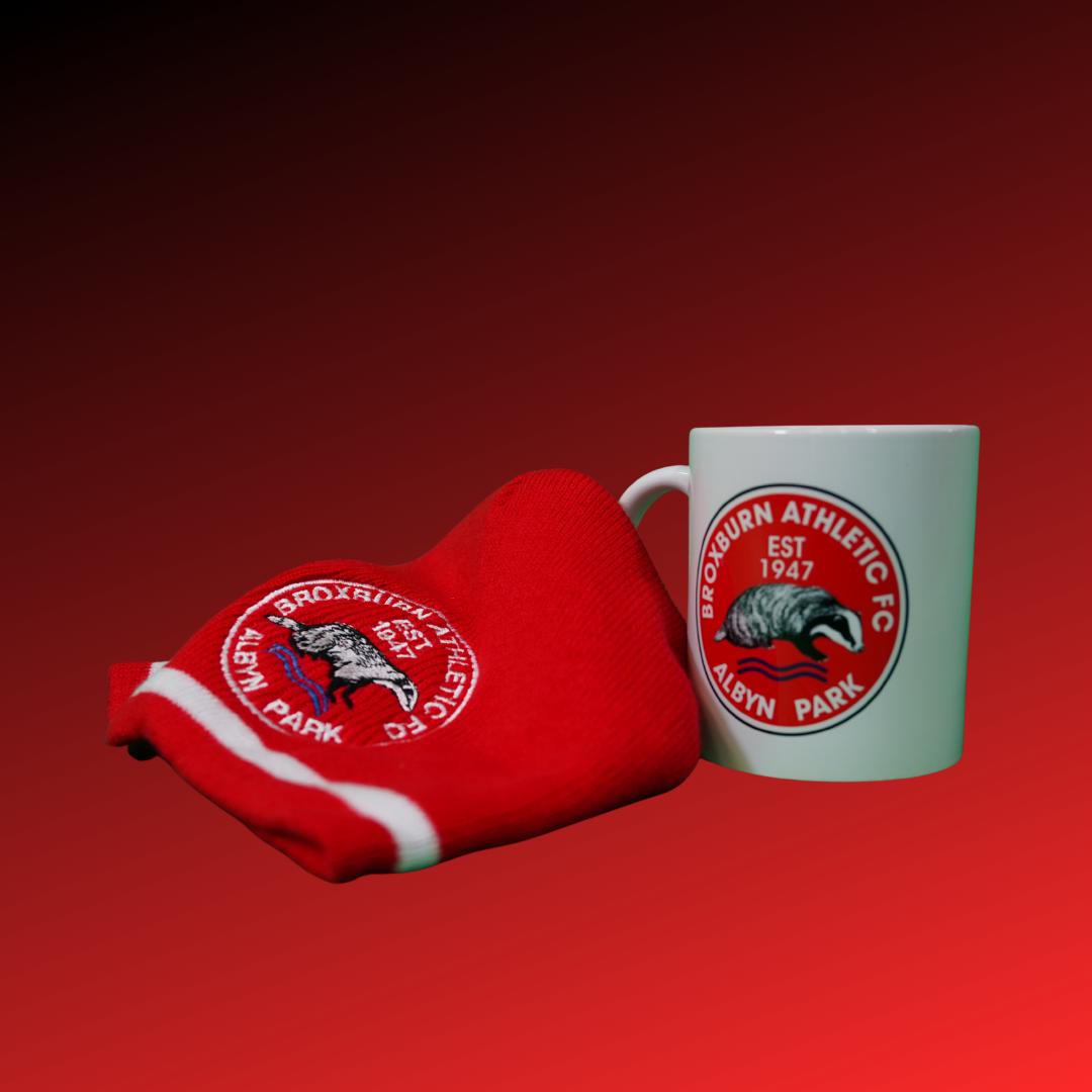 Hat and mug combo