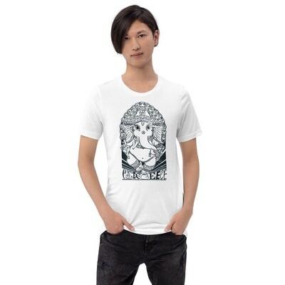 E is for Elephant (Unisex Short Sleeve Artwork T-Shirt)