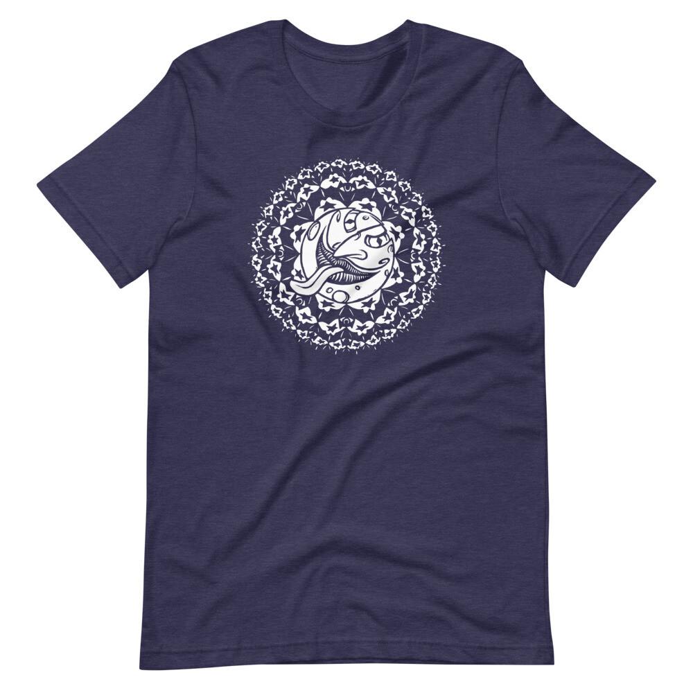 Mellow Luna BS (Unisex Short Sleeve Artwork T-Shirt)
