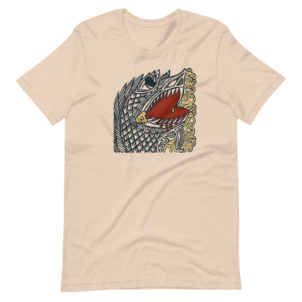 Draco Heart BS (Unisex Short Sleeve Artwork T-Shirt)