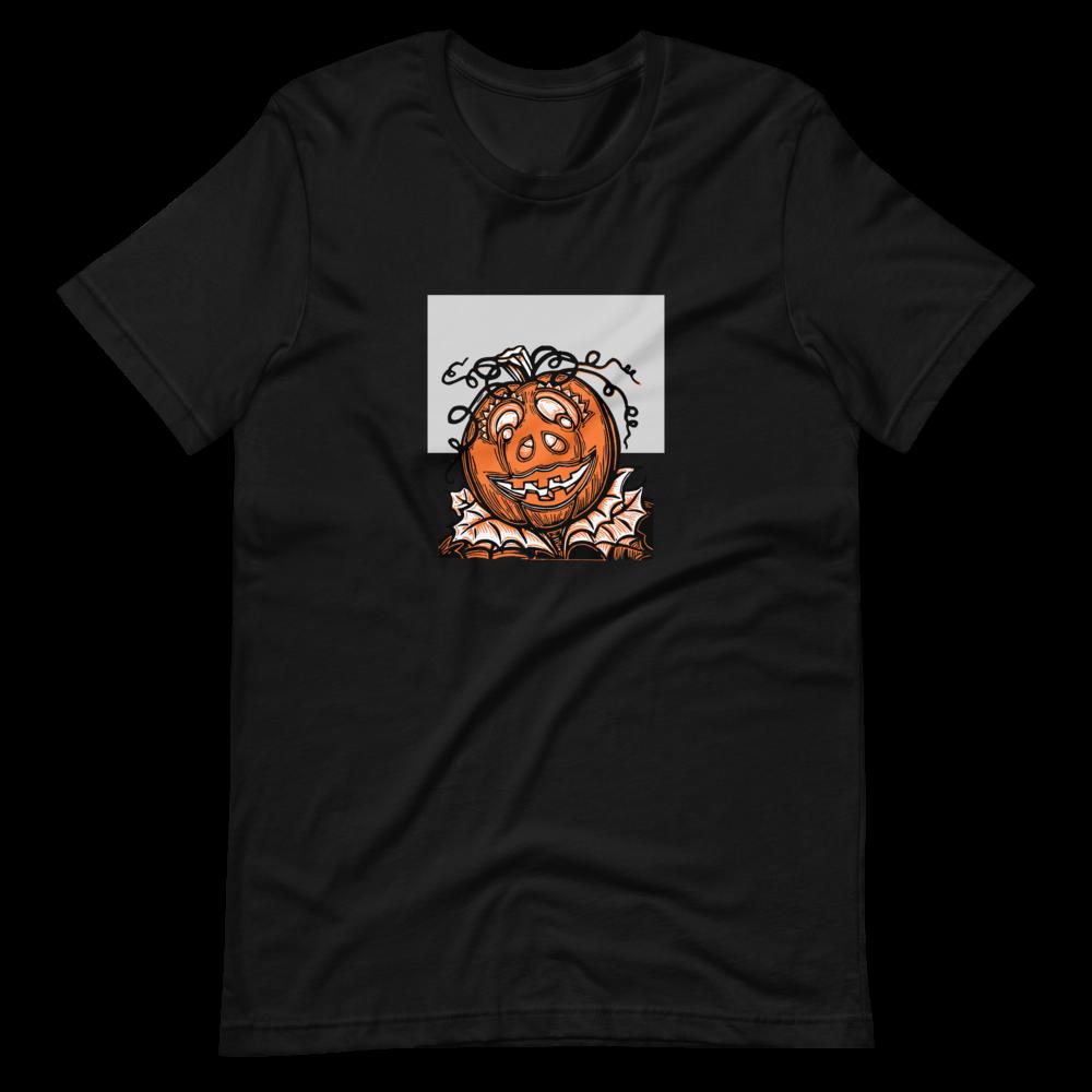 Pumpkin Spice Patch BS (Unisex Short Sleeve Artwork T-Shirt)