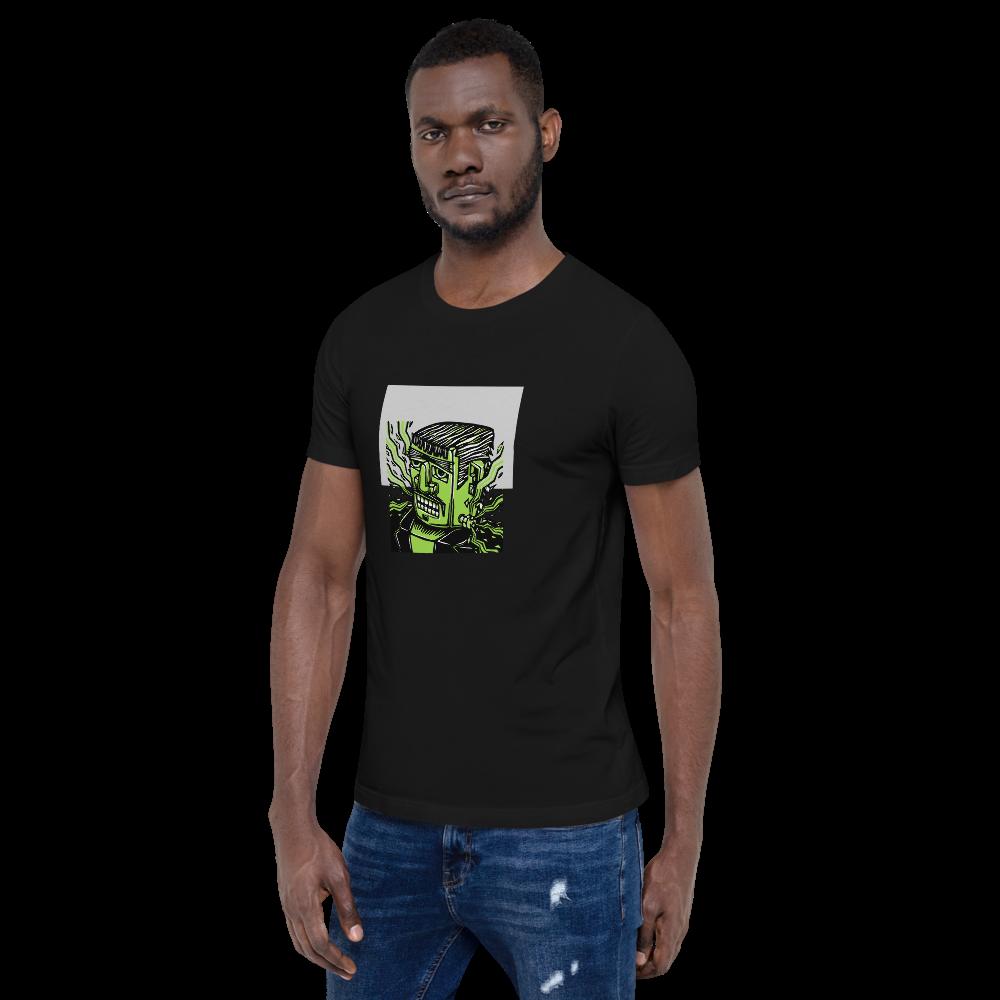 Just Bein' Frank BS (Unisex Short Sleeve Artwork T-Shirt)