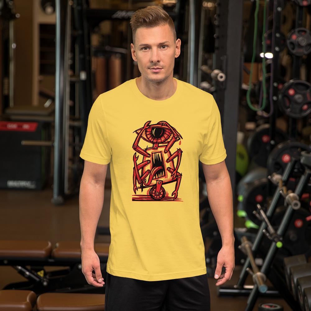 Eye, Robot BS (Unisex Short Sleeve Artwork T-Shirt)