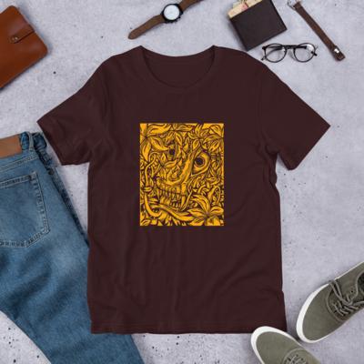 Flower Dragon BS (Unisex Short Sleeve Artwork T-Shirt)
