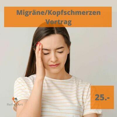 Online Vortrag - Kopfschmerzen / Migräne