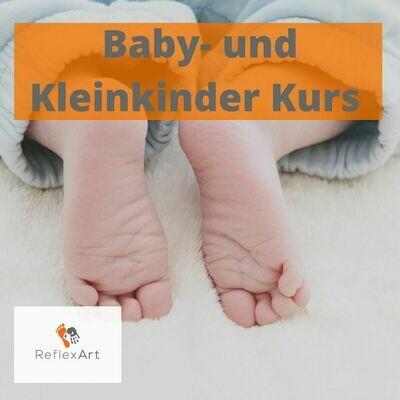 Baby- und Kleinkinder Fussreflex-Massage