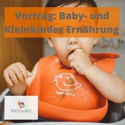 Vortrag Baby- und Kleinkinderernährung