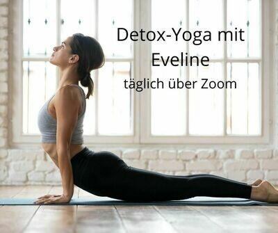 Detox Yoga mit Eveline