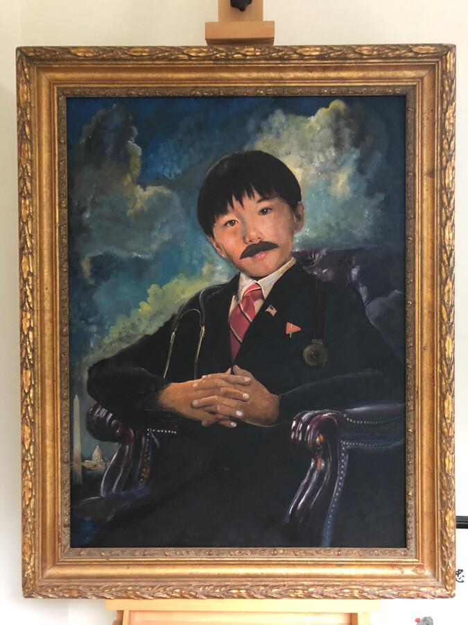 Formal Painted Portrait