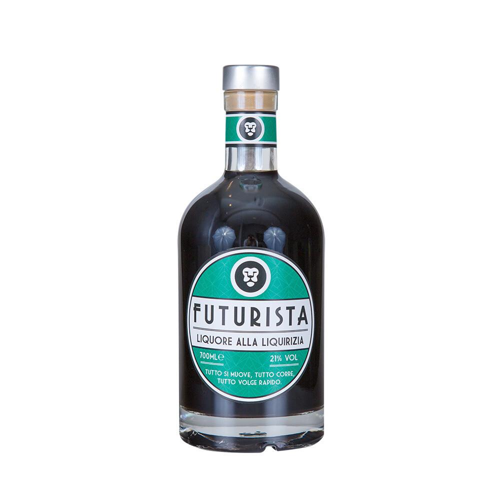 Liquore alla liquirizia Futurista