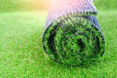 גליל של דשא סינטטי 5*5 מטר mix