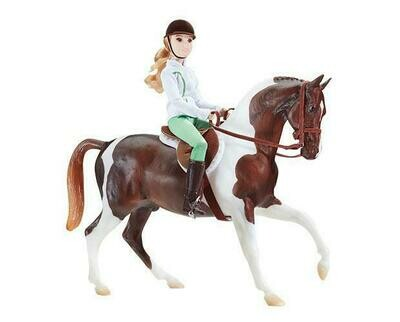 BREYER 1787 LET'S GO RIDING ENGLISH (Retired)