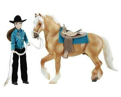 BREYER 1788 LET'S GO RIDING WESTERN (Retired)