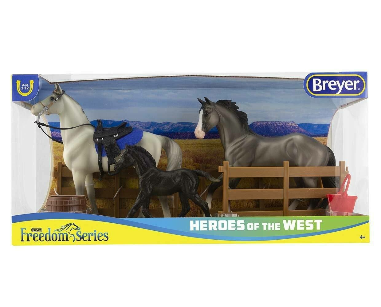 BREYER 61098 HEROES OF THE WEST (Retired)