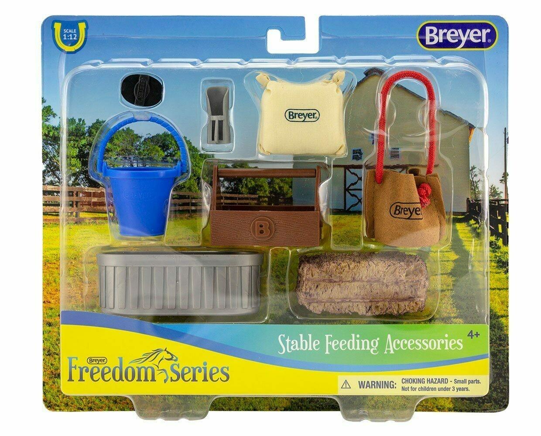 BREYER 61075 STABLE FEEDING ACCESSORIES *