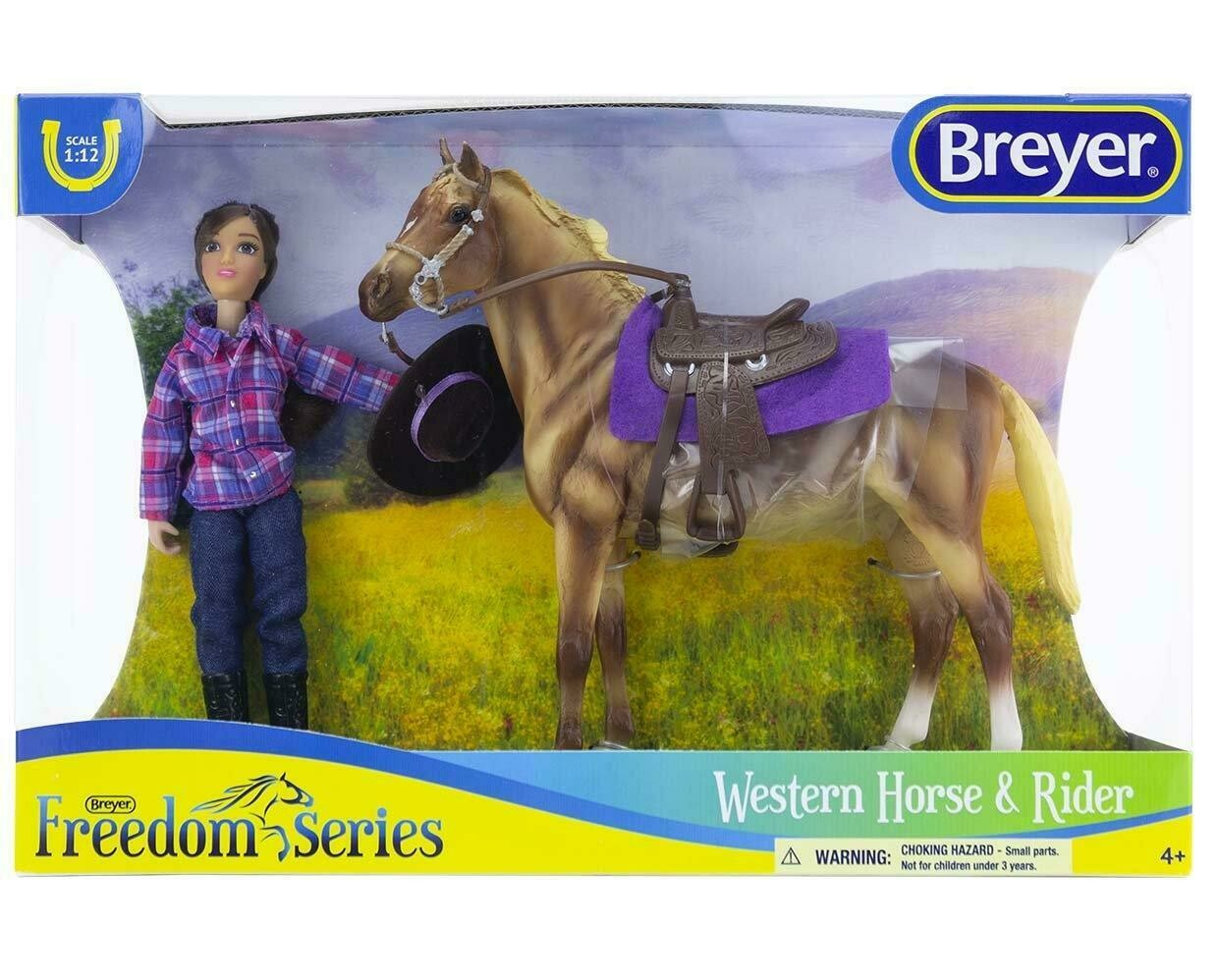 BREYER 61116 WESTERN HORSE AND RIDER *