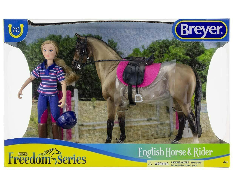 BREYER 61114 ENGLISH HORSE AND RIDER