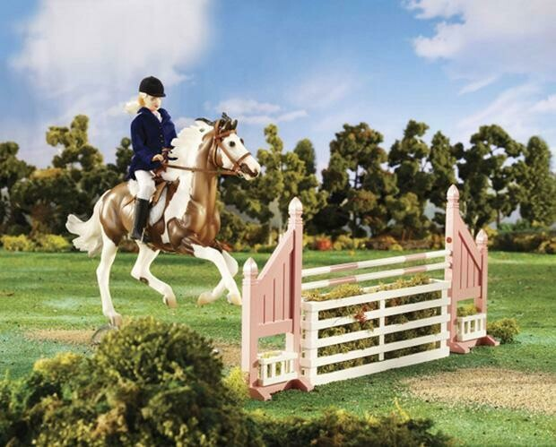 BREYER BRUSH BOX JUMP 2043