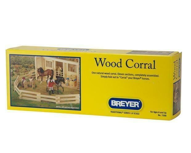 BREYER WOOD CORRAL 7500