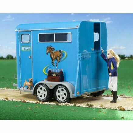 BREYER 2617 TRADITIONAL TWO-HORSE TRAILER
