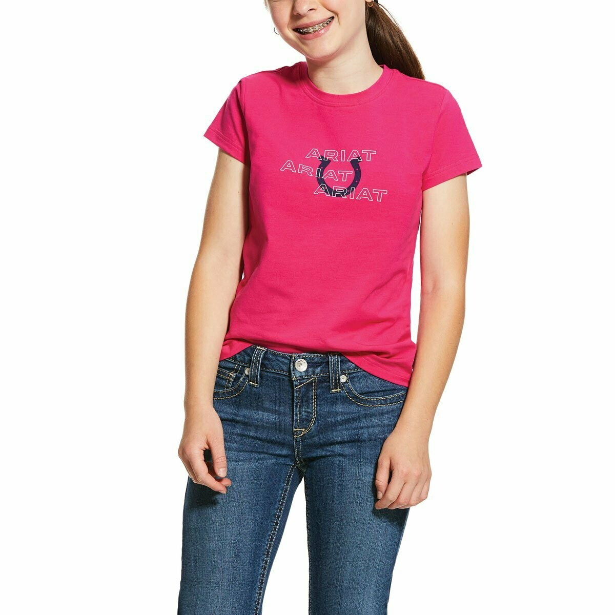 ARIAT KIDS PUFF PRINT *