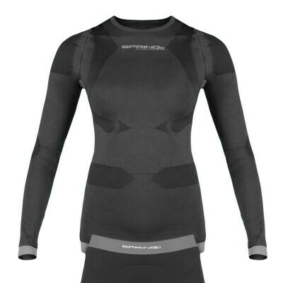Spring Revolution 2.0 Ladies Long Sleeve Baselayer Top (Graphite)