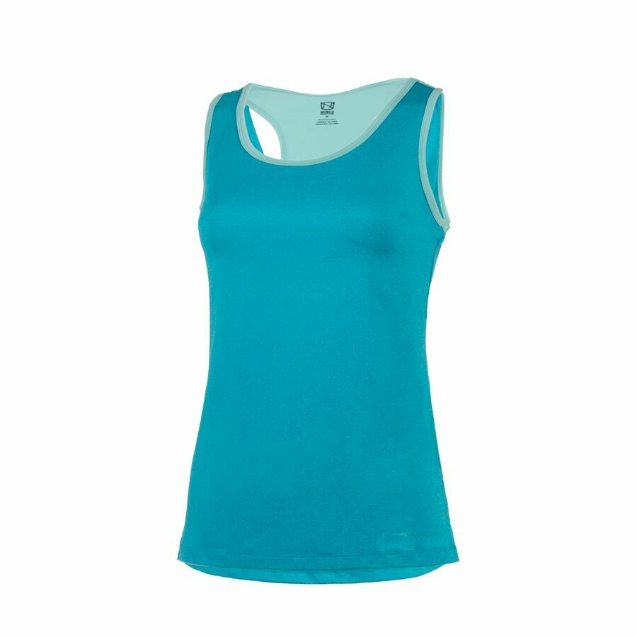 Noble Outfitters Ladies' Brooke Tank Top (Island Blue)