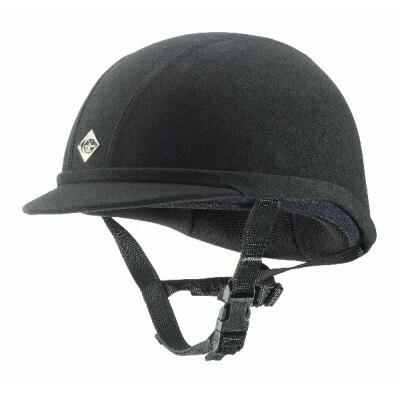 Charles Owen JR8 Helmet (Black)