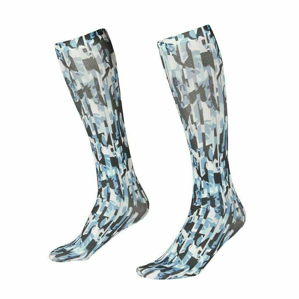 Kerrits Boot Socks (Blue Prism)