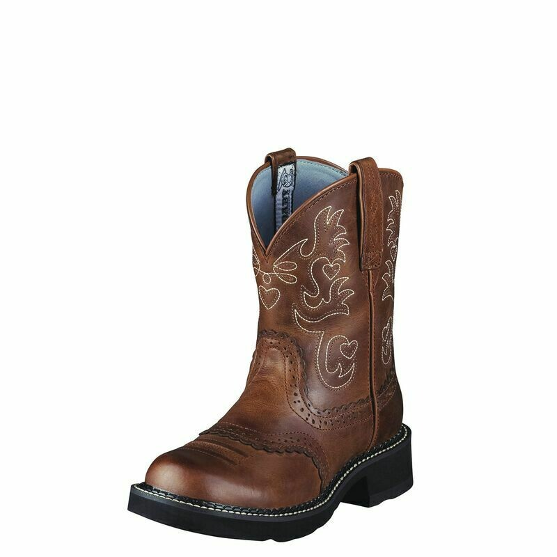 Ariat Fatbaby Saddle Women's Western Boot