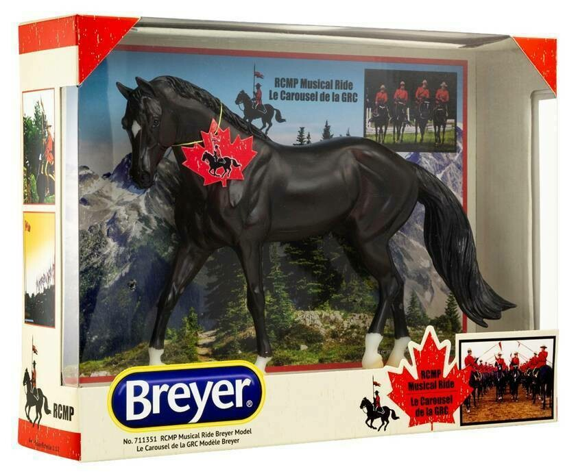 BREYER ROYAL CANADIAN RCMP MUSICAL RIDE (711351)