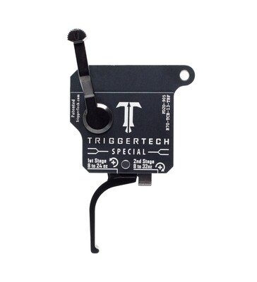 TriggerTech Two Stage 1-3.5lb Special Flat  PVD Trigger for Remington 700 and Clones
