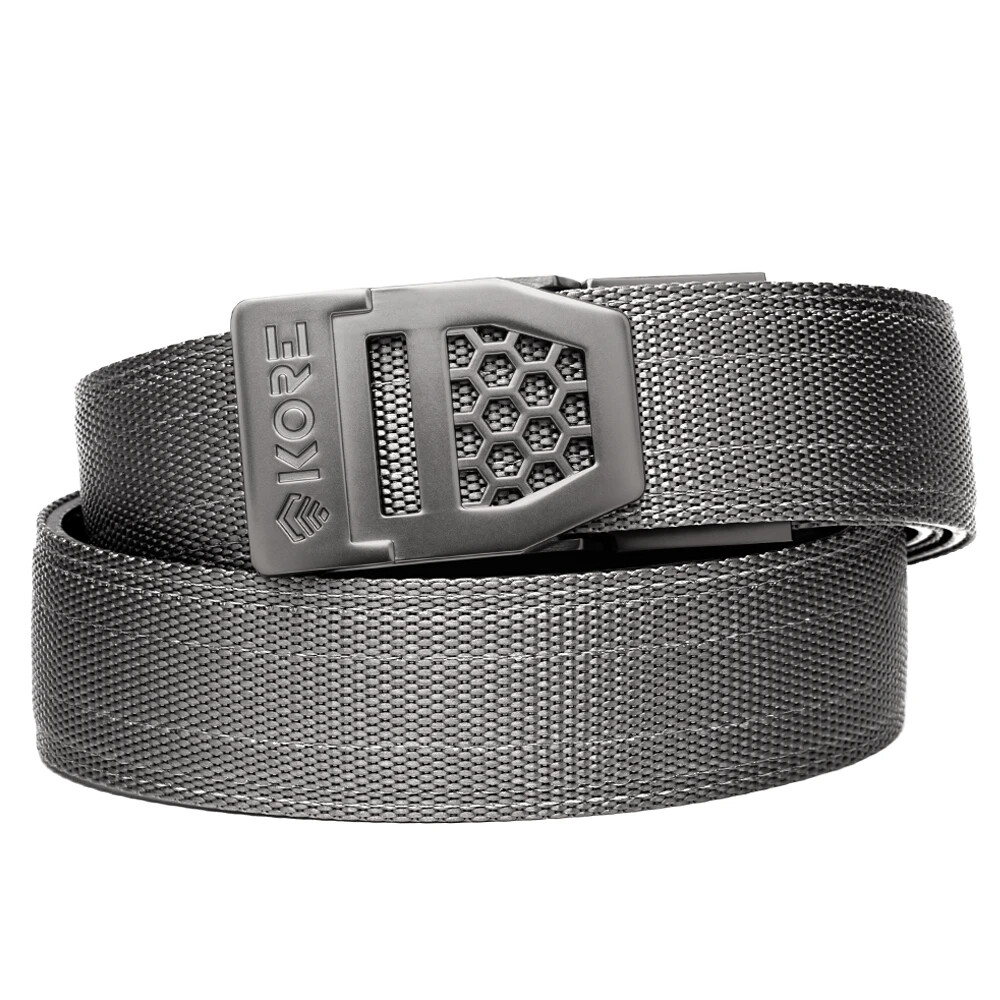 "KORE X6 Grey Tactical Micro Adjust Belt Size 24""-44"""