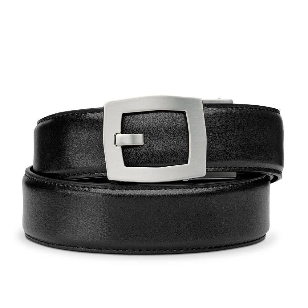 "KORE X8 Black Leather Micro Adjust Belt Size 24""-44"""