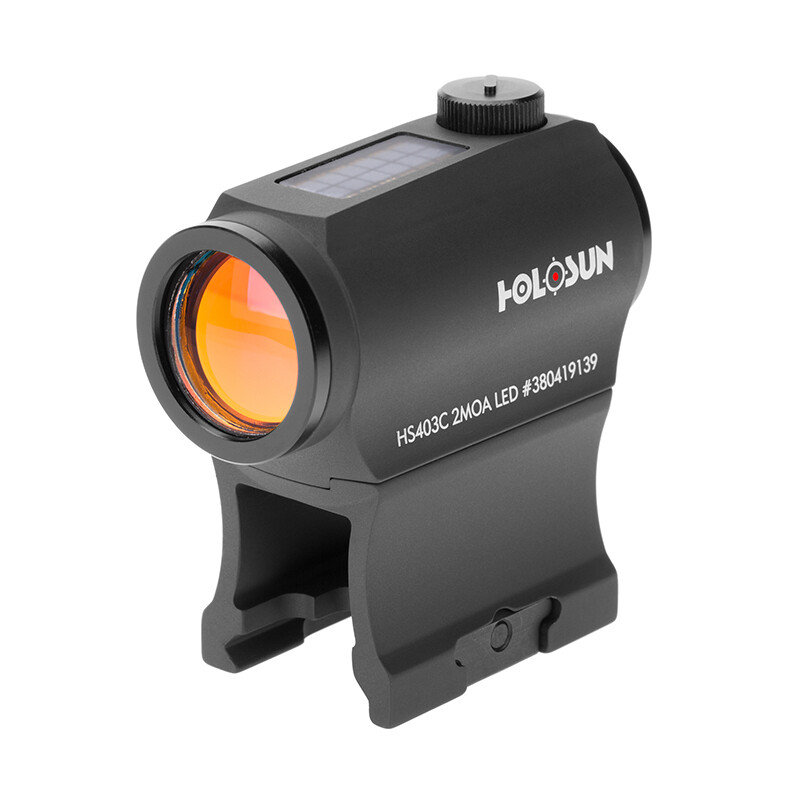 Holosun HS403C Solar Auto-Brightness Red Dot Sight with Cowitness Mount
