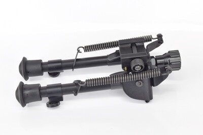 """Harris Engineering S-BR2P Canting 6-9"""" Picatinny Mount Bipod With Self Leveling Legs"""