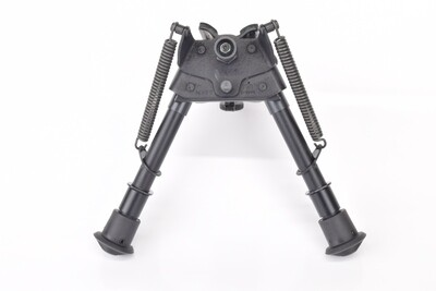 """Harris Engineering S-BRM Canting 6-9"""" Swivel Mount  Bipod With Notch Legs"""