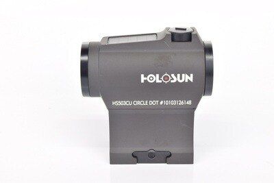 Holosun HS503CU Red Dot with Auto Brightness and Shake Awake Red Dot Sight