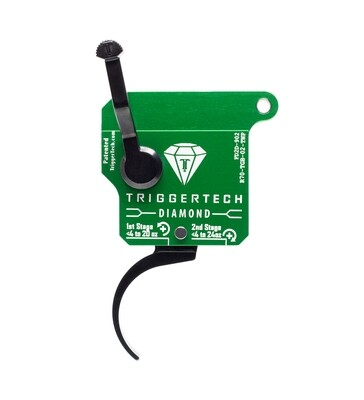 TriggerTech Diamond Two Stage Curved Right Hand