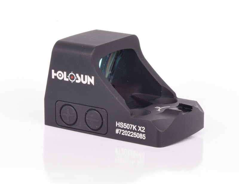 Holosun HS507K-X2 Micro Red Dot for Pistols with Shake-Awake