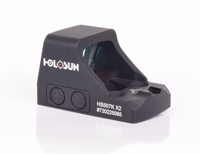 Holosun HS507K-X2 Micro Red Dot for Pistols with Shake-Awake