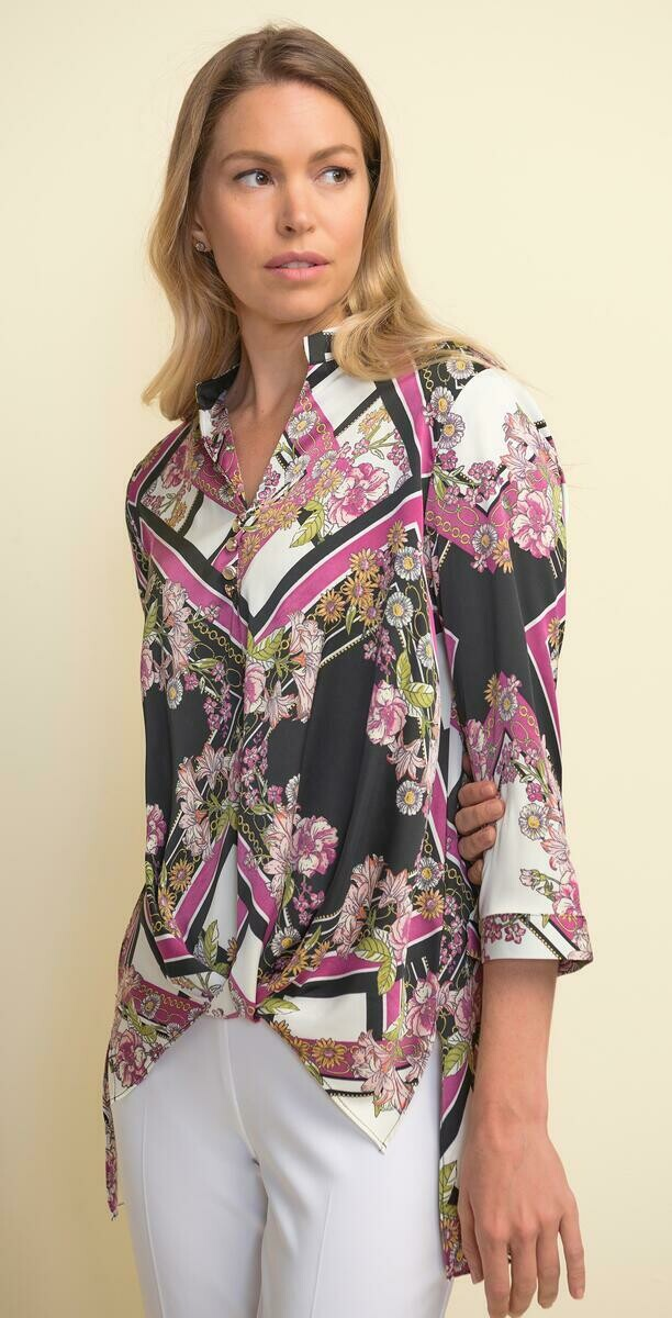 LDS Floral Tunic