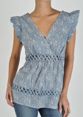 BLUEBERRY DELIGHT TOP