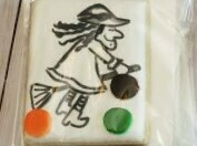 Witch Paint Your Own Cookie