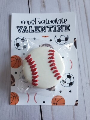 Most Valuable Valentine Baseball