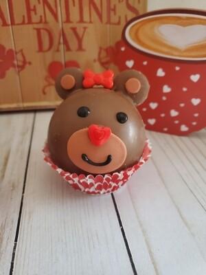 Girl Bear Hot Cocoa Bomb